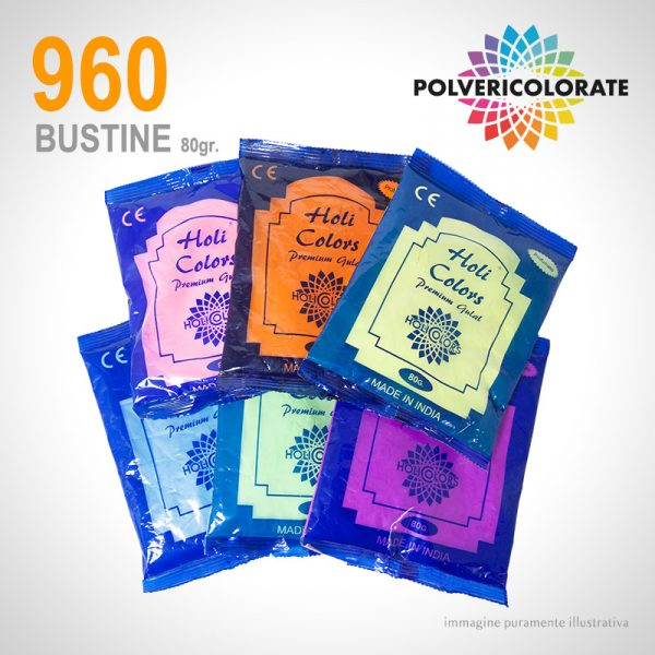 Polveri Colorate HoliColors - 960 bustine