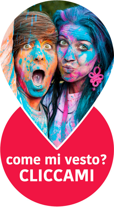Polveri colorate Holi: come mi vesto?